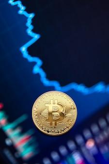 Bitcoin cryptocurrency график роста монеты bitcoin на биржевом графике