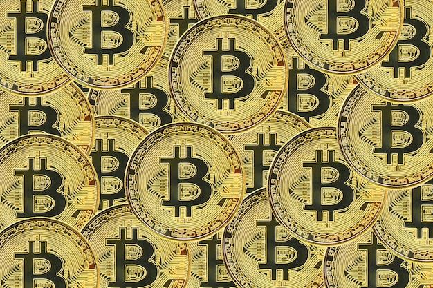 Bitcoin cryptocurrency 더미 배경 가상 통화 배경
