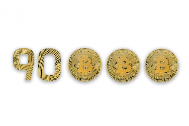 Биткойн золотые монеты