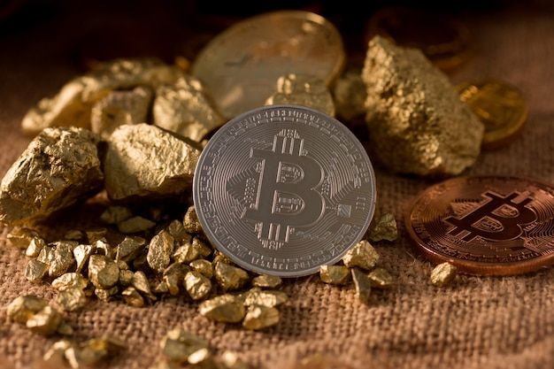 Bitcoin is digital money for investor have high risk