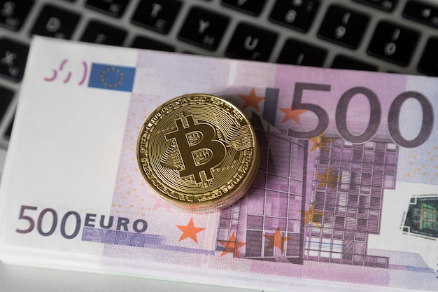 The bitcoin is on the money