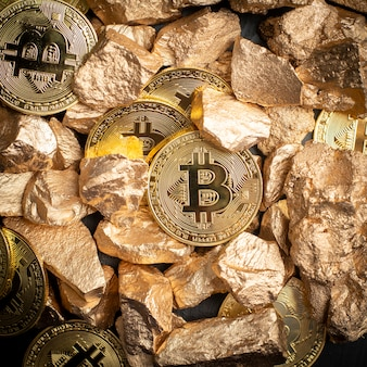 Bitcoin mining background