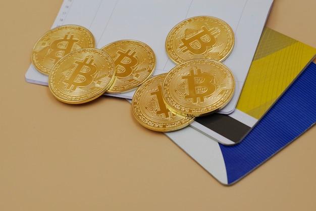 将来のお金のbitcoin。