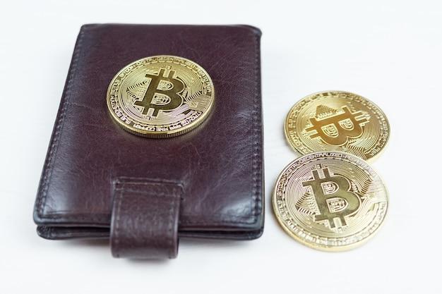Bitcoin and purse