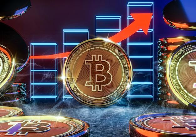 Стрелка роста биткойнов набирает популярность в криптовалюте