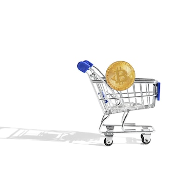 ショッピングカート付きビットコイン