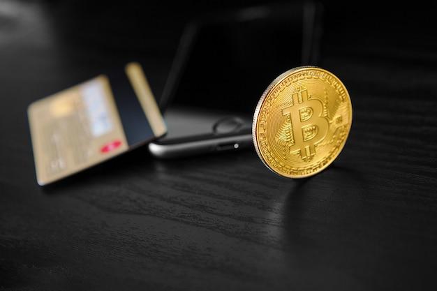 スマートフォンで財布からbitcoinへのドルの移動。ブロックチェーン
