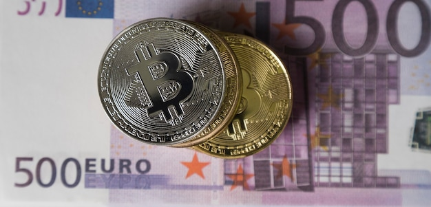 Bitcoins are on the money