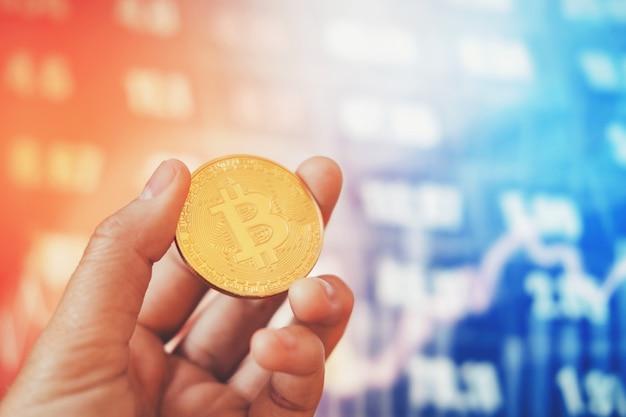 デジタル株式市場の金融取引における金融と銀行業のためのビットコイン