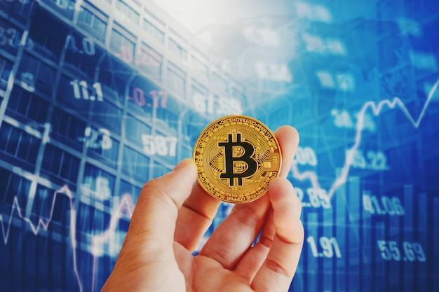 デジタル株式市場の財務と金融のためのビットコイン