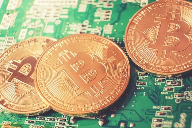 Bitcoinsの新しい仮想マネーとデジタルコンセプト