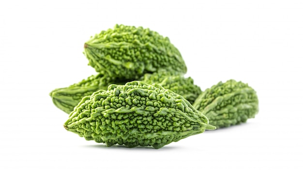 Bitter gourd green herbal plant