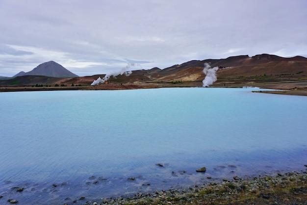 Bjarnarflag 지열 발전소-아이슬란드.
