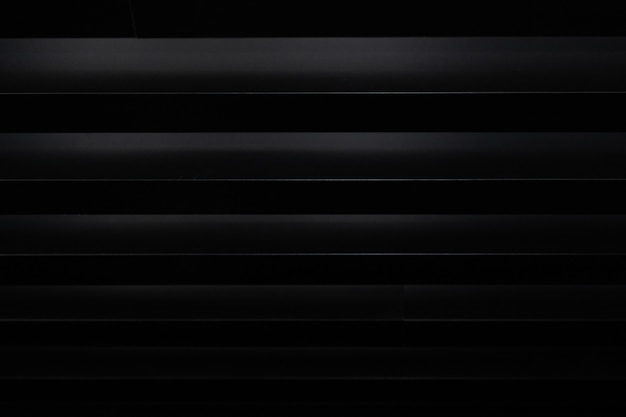 Black 3d background with white stripes
