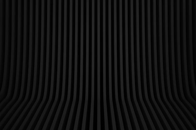 黒の抽象的な幾何学的な線部屋の背景