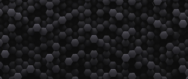 Black abstract low decorative background