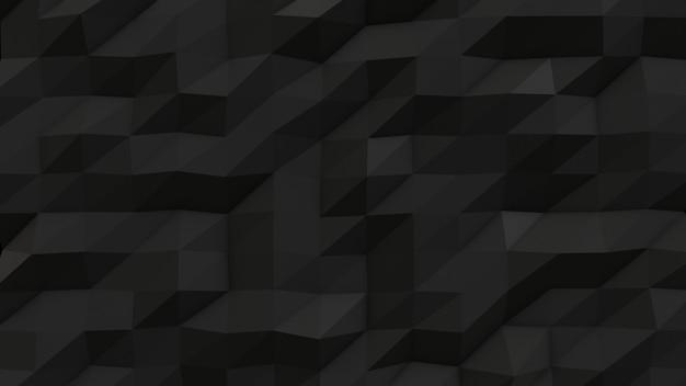 Фон черный абстрактный треугольник
