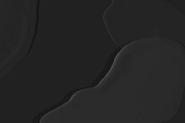 Черные акриловые фактурные обои