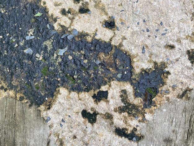 Черно-серая текстура цемента и фон