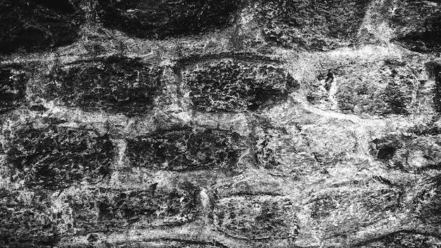 Черно-белый фон из старых каменных стен