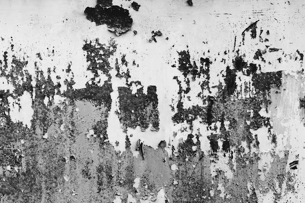 Черно-белая пыль и scratched textured backgrounds с пространством.