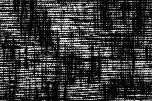 Черно-белая вретище, фон, текстура, полоска