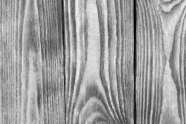 木の板からの黒と白のテクスチャ