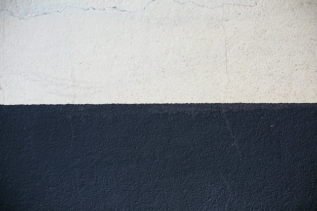 黒と白のテクスチャセメント壁の背景