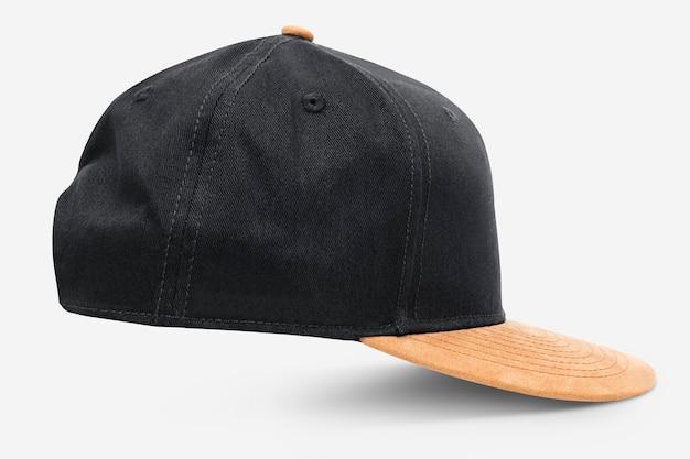 Чёрно-желтая шапка, головной убор
