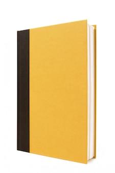 검정색과 노란색 하드백 책