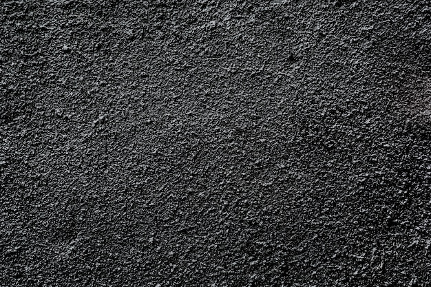 Black asphalt grainy wall