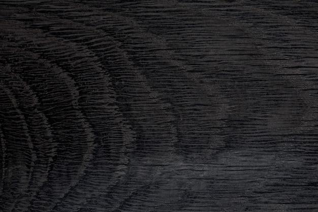 Черный фон текстура древесины бесшовные. фотография высокого разрешения.