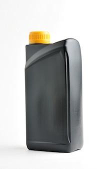 Black barrel on isolated white background