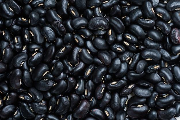 Черная фасоль и текстура