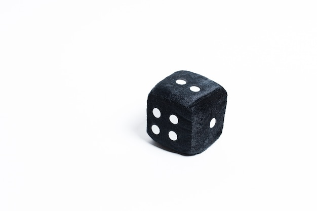 Black block with numbers on a white.