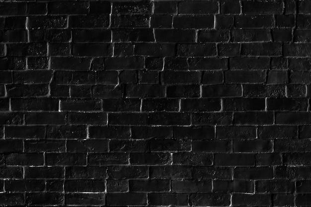 Black brick patterned background