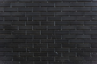Black brick wall design space