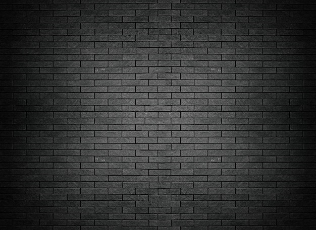 Black brick wall texture brick surface background wallpaper