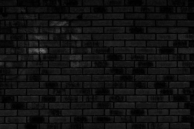黒レンガの壁のテクスチャの壁紙