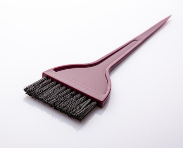 Black bristled paint brush