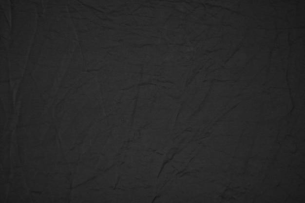 Black canvas fabric texture background