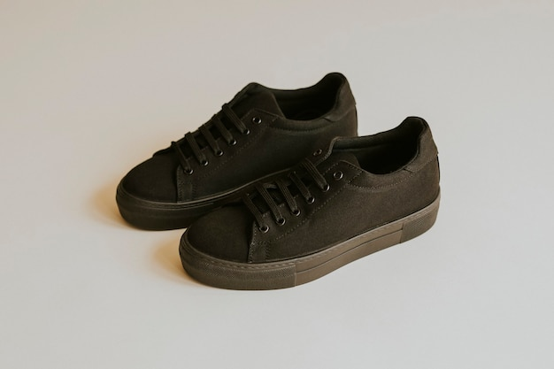 Scarpe unisex sneakers in tela nera