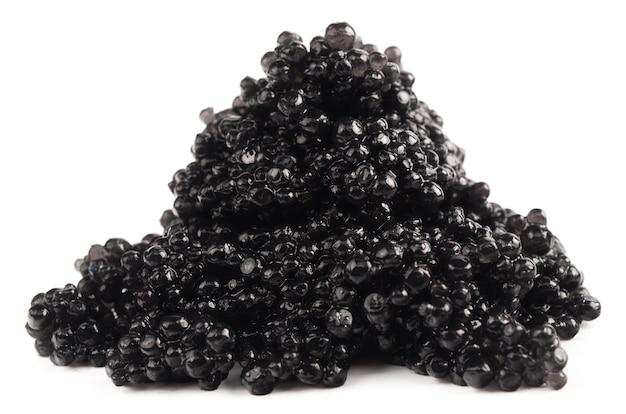 블랙 캐비어 흰색 절연