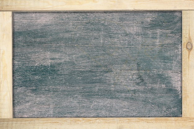 Black chalkboard with frame wood.