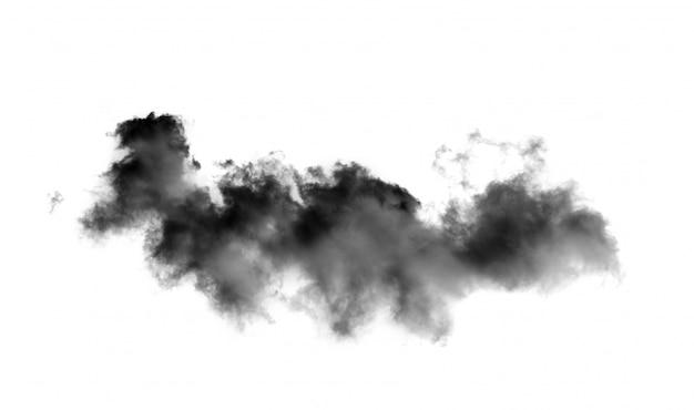 Черные тучи на белой стене