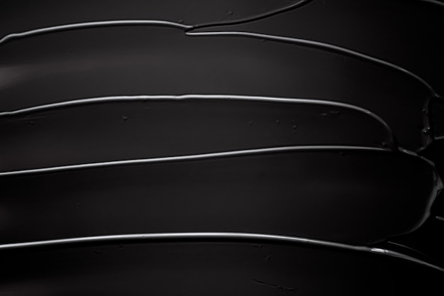 럭셔리 뷰티 브랜드 휴가를 위한 블랙 크림 질감 배경 화장품 및 메이크업 배경 ...
