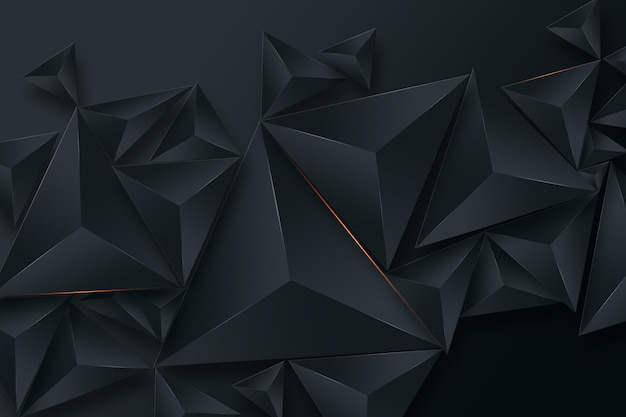 Black creative background