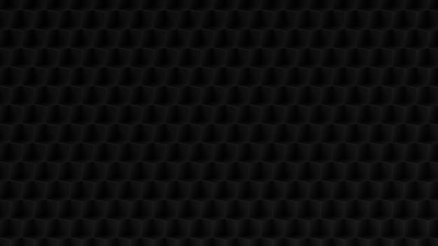 검은색 입방체 배경 무늬
