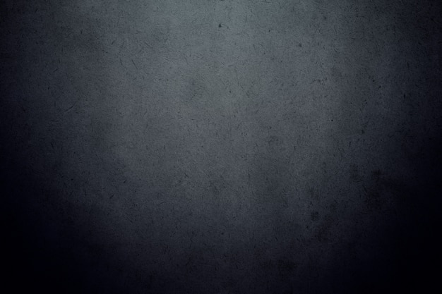 Black dark gradient wall with grain smudge dirty texture background