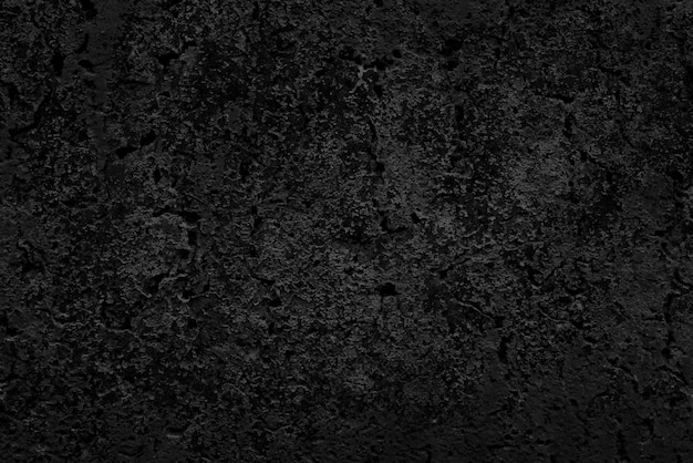 黒の装飾的な美しいパネル。抽象的な黒の背景。黒漆喰の質感。暗い粗面。